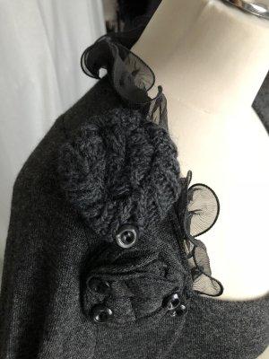 Vestido de lana multicolor Lana