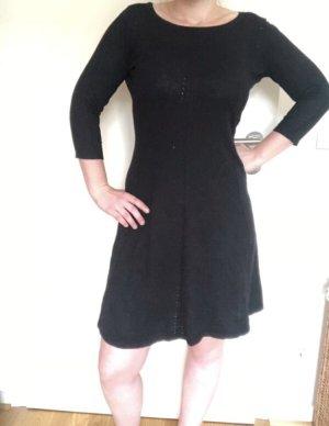 Winterkleid mit Zopfmuster M