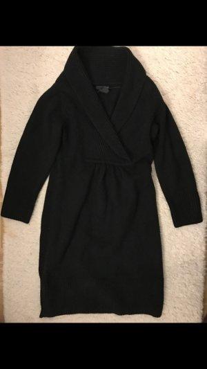 Winterkleid von H&M in schwarz