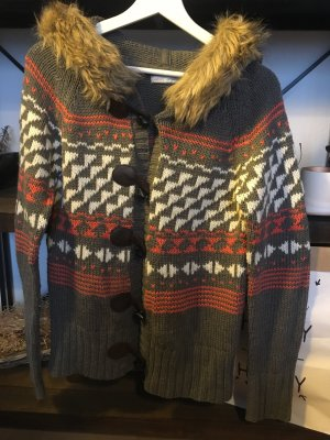 Winterliche Strickjacke