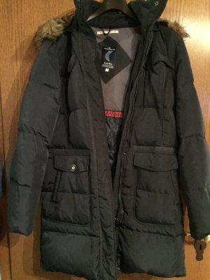 Tom Tailor Abrigo corto azul oscuro