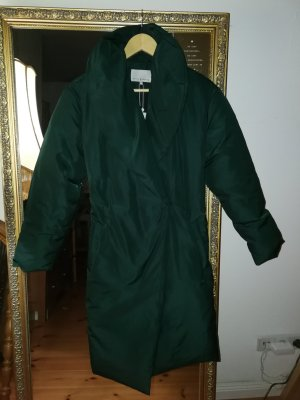 Mint&berry Down Coat forest green
