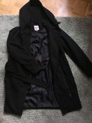Object Manteau à capuche noir