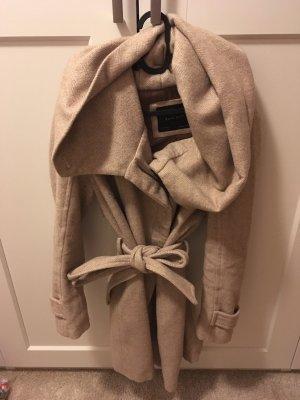 Zara Abrigo de invierno multicolor