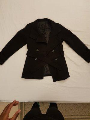 Abrigo corto negro