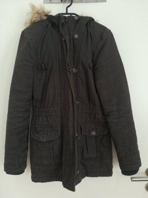 Pimkie Abrigo con capucha gris oscuro