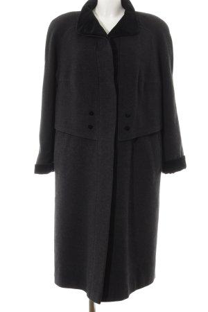 Cappotto invernale antracite-nero stile professionale