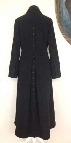 Cappotto invernale nero Lana