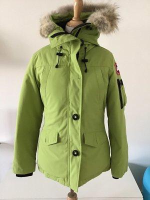 Wintermantel Canada Goose grün