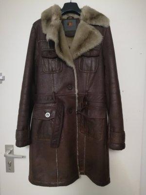 Paisley Park Long Jacket brown-beige