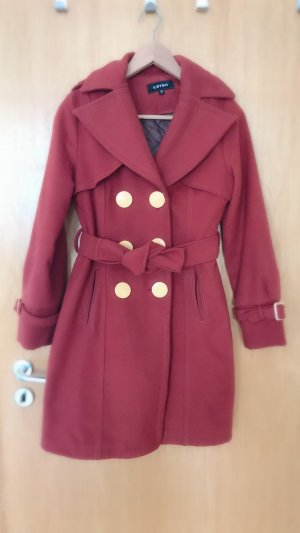 Heavy Pea Coat russet-dark orange