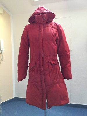 Vero Moda Manteau en duvet rouge polyamide