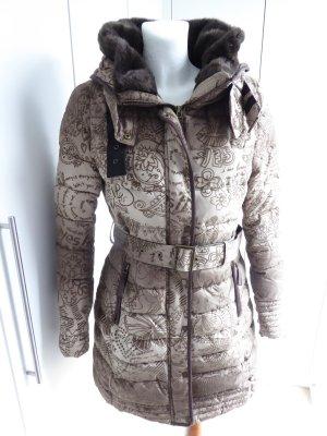 Desigual Abrigo de invierno color bronce-color oro