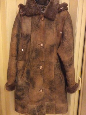 Pelt Coat bronze-colored