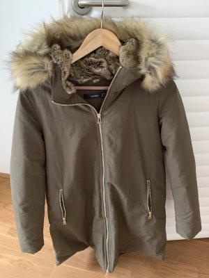 Hallhuber Abrigo de invierno multicolor Algodón
