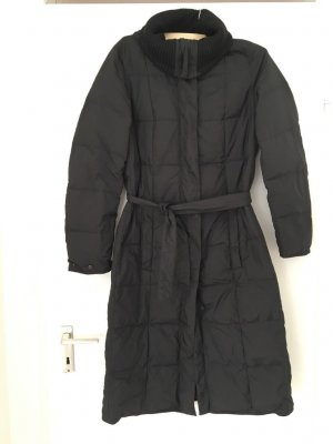 Hugo Boss Hooded Coat black polyester