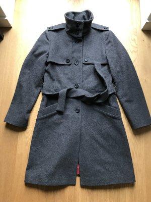 Boss Hugo Boss Cappotto in lana antracite Lana