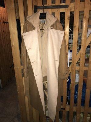 Wintermantel im trench coat style mit integriertem hoodie, NEU, 36