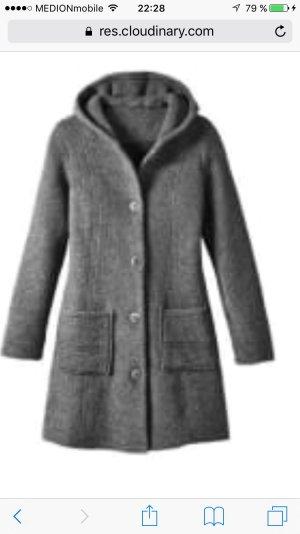 Wintermantel in einem Grau- Gr 44