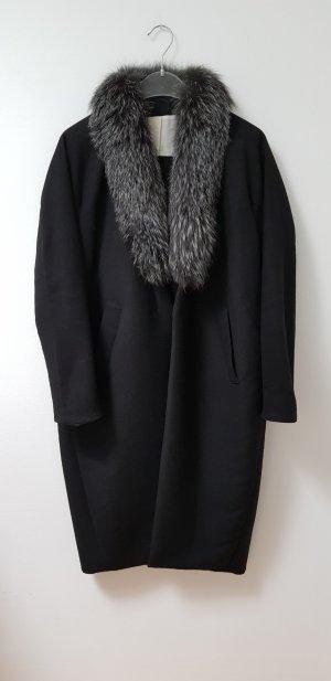 Dawson Cashmere Company Manteau d'hiver noir cachemire