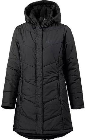 Jack Wolfskin Manteau d'hiver noir-gris