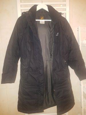 Jack Wolfskin Abrigo de invierno negro-gris