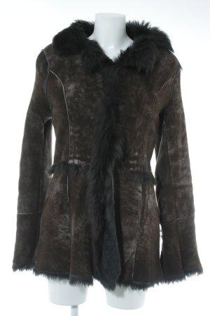 "Winter Coat ""le Copains - Lammfell"""