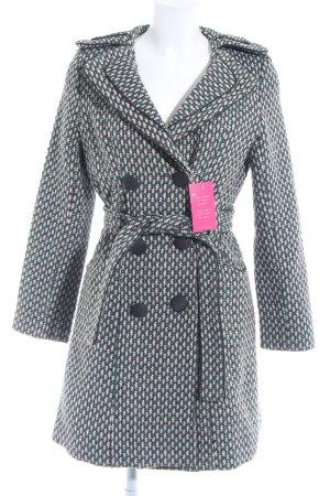 Cappotto invernale multicolore stile casual