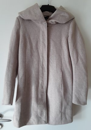 Only Hooded Coat cream-oatmeal