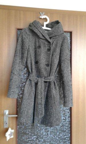 Cappotto invernale nero-bianco