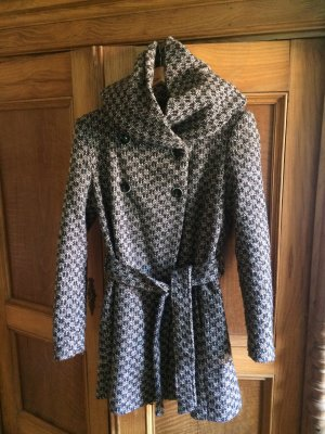 Zara Hooded Coat multicolored