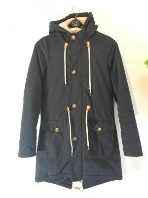 Derbe Manteau d'hiver bleu foncé polyamide