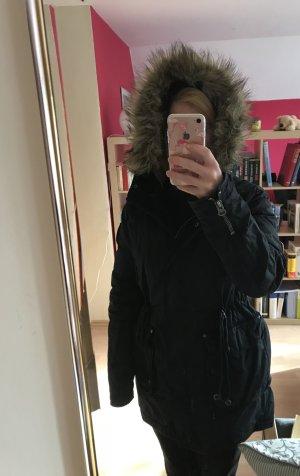 Wintermantel / Parka mit Kapuze