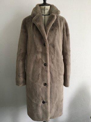 Oakwood Winter Coat grey brown-beige polyester