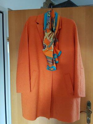 Wintermantel (reine Wolle) in orange von Ralph Lauren