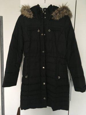 Wintermantel schwarz DKNY