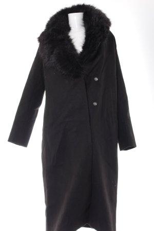 Wintermantel schwarz Elegant