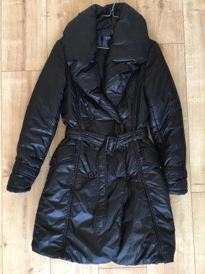 Hallhuber Manteau d'hiver noir