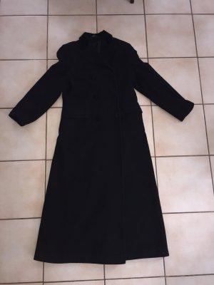 Wintermantel schwarz lang Gr 38