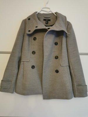 H&M Winter Coat light grey-grey