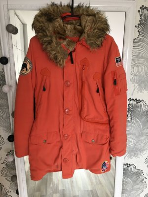 Alpha Industries Winter Coat orange