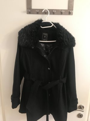 Guess Short Coat black-silver-colored