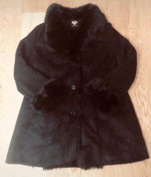 Sarah Kern Manteau en cuir noir