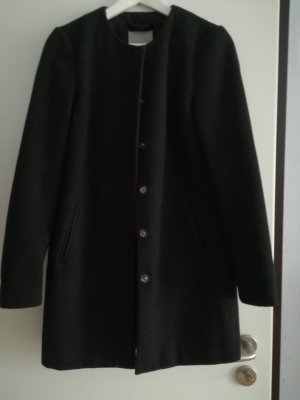 Vero Moda Abrigo de lana negro
