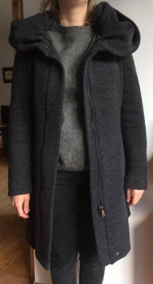 Zara Abrigo con capucha multicolor