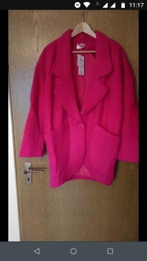 Gabardina tipo vestido rosa