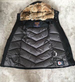 Woolrich Winter Jacket black polyamide