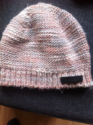 Calvin Klein Knitted Hat multicolored wool