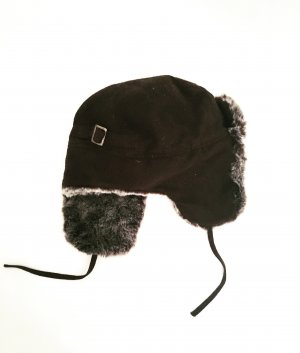 Vintage Fur Hat multicolored