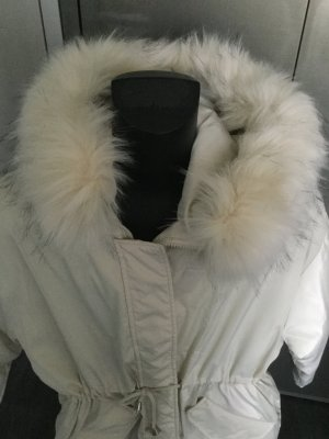 Quilted Coat natural white
